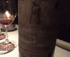 古いワイン